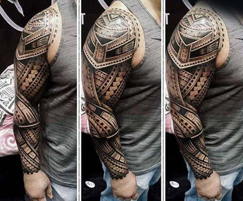 maori tribal dövmeler tattoos 40