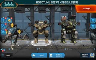 walking war robots mod apk indir