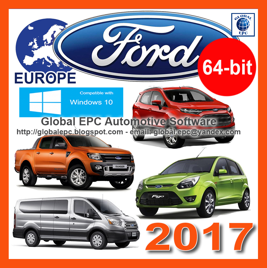 GLOBAL EPC AUTOMOTIVE SOFTWARE: FORD MICROCAT EUROPE EPC