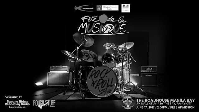 The First Ever Rock N Roll Stage for Fete de la Musique Philippines 2017