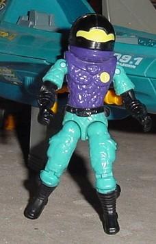 1994 Star Brigade Cobra Commander, 1990 Vector