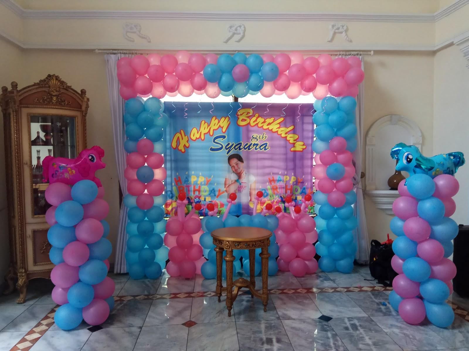 Dekorasi Balon Ultah Sederhana Ide Rumah Cantik