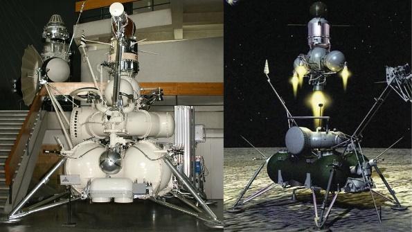 Resultado de imagen para Luna 24 sovietico