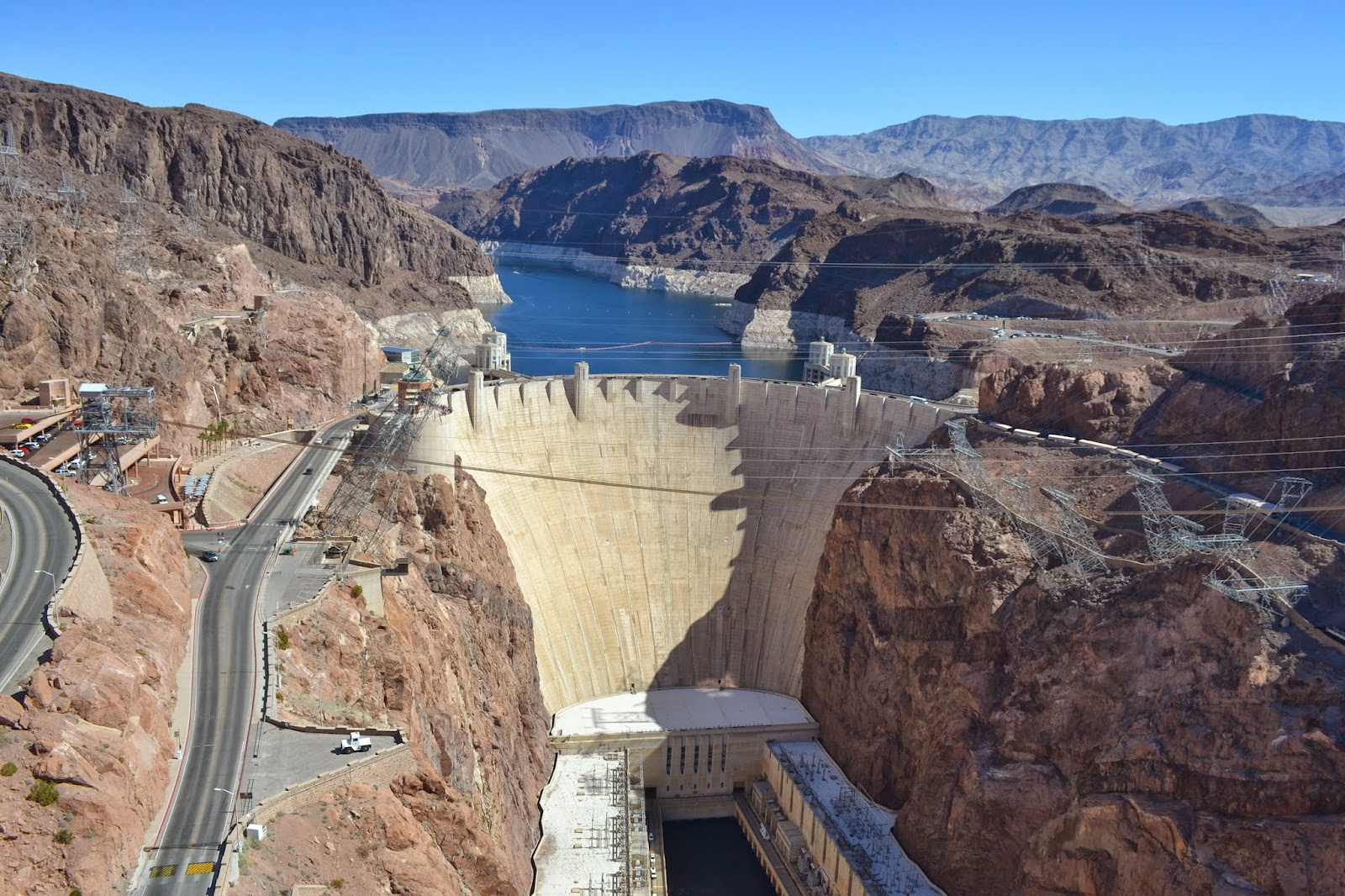 The water line at Hoover dam : mildlyinteresting |Hoover Dam Water