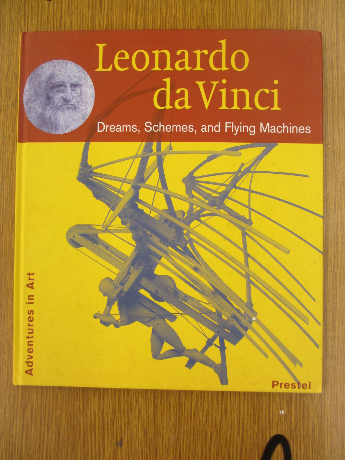 The Great Artdoors 4th Grade Davinci Flying Machines