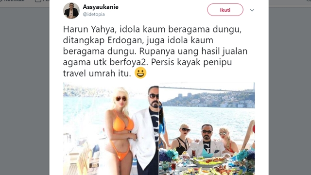 Duh! Pendiri JIL ini Sebut Erdogan Idola 'Kaum Beragama Dungu'