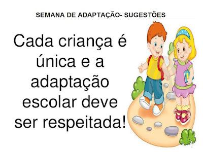 PLANO DE AULA PARA SEMANA DE ADAPTAÇÃO