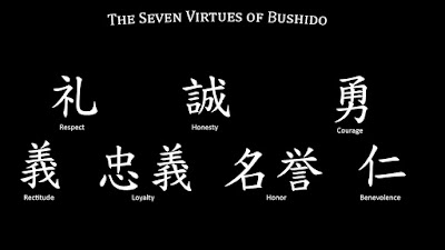 The seven virtues of Bushido