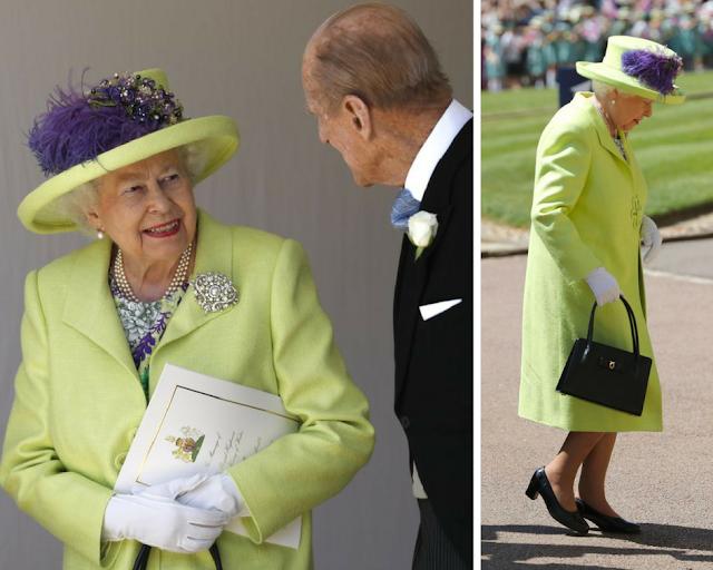 Queen Elizabeth Outfit at Royal Wedding