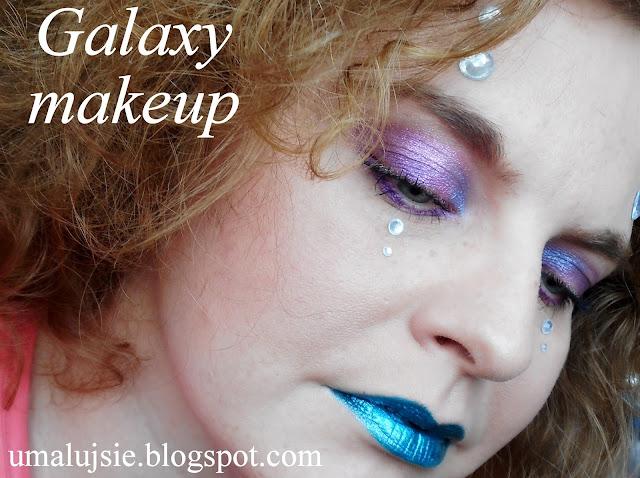 Makijaż GALAKTYKA/ galaxy makeup