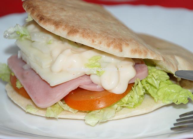 Kebab vegetal casero