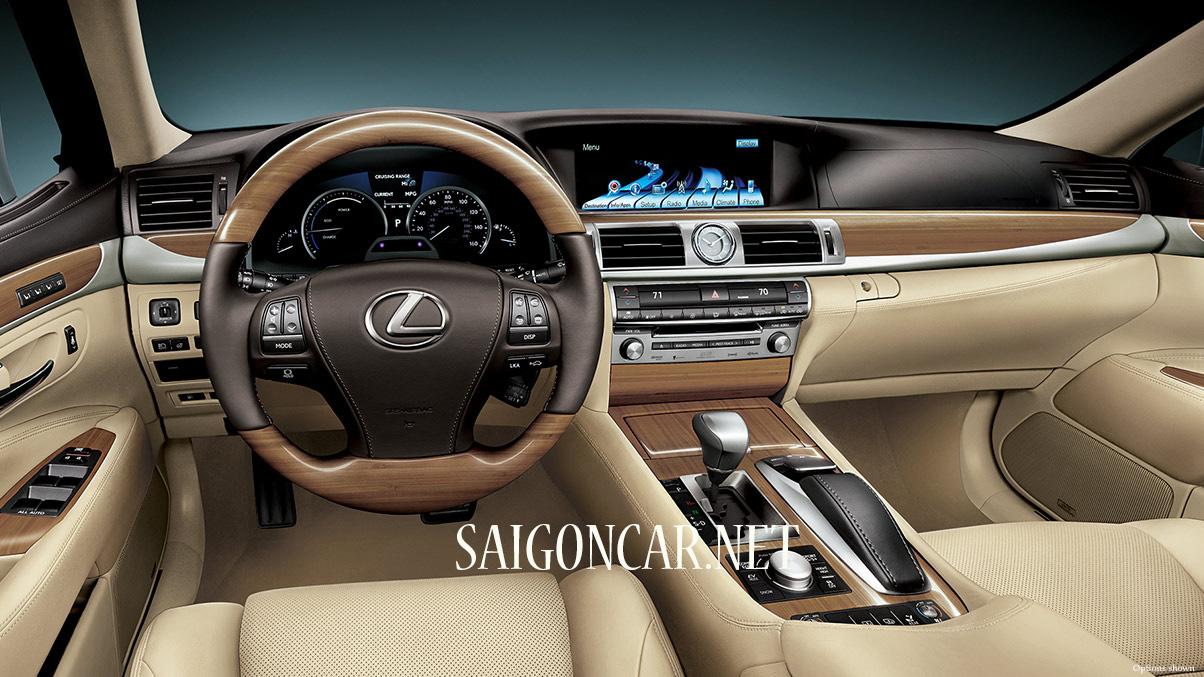 nội thất Lexus LS 460 2019