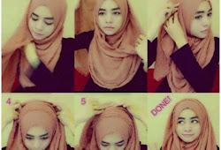 Jilbab Pashmina Rawis Kusut Hijabfest