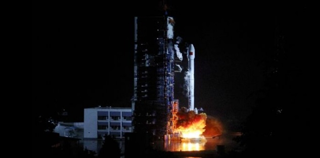 Long March 3B rocket lifts off with the Tiantong-1 No.1 satellite from the Xichang Satellite Launch Center on Aug. 5, 2016. Photo Credit: Chinanews.com