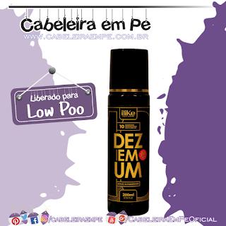 Spray 10 em 1 Leave-In Poderoso - iLike (Low Poo)