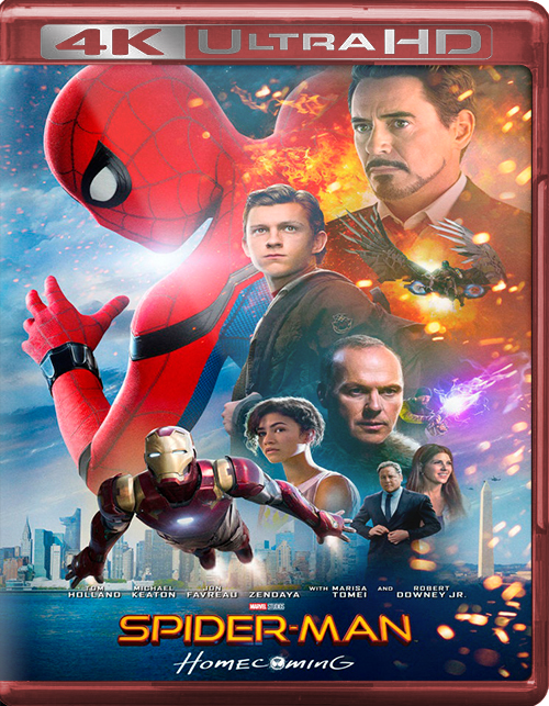 Spider-Man: Homecoming [2017] [UHD] [2160p] [Latino]