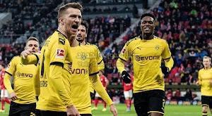 بوروسيا دورتموند يحقق فوز كبير على فريق ماينز برباعيه في الدوري الالماني