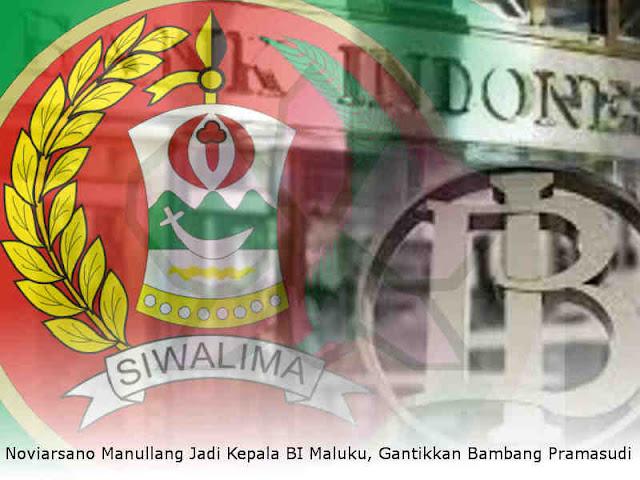 Noviarsano Manullang Dikukuhkan Jadi Kepala BI Maluku, Gantikkan Bambang Pramasudi