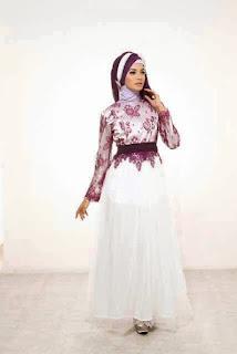 Desain Baju Muslim Gamis Brokat Terbaru Dan Modern