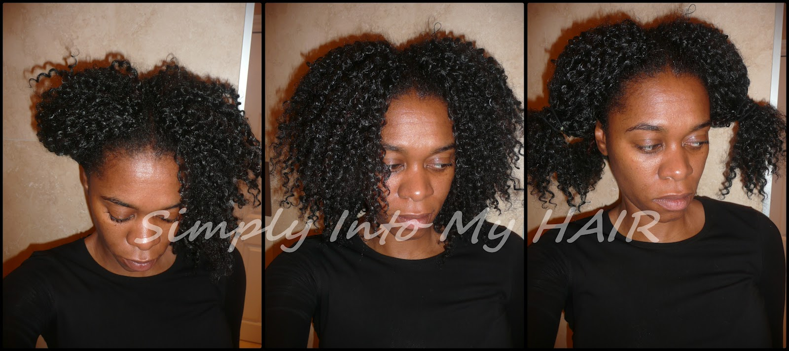 Wash Day With Crochet Braids 120312 Simply Into My Hair