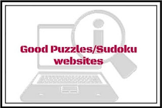Links to the good puzzles and Sudoku website