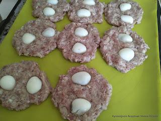котлеты запеченные с черри и яйцами
