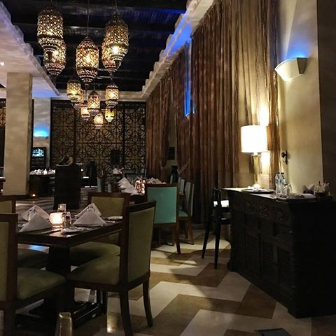 dining at Tilal liwa hotel and resorts - www.ourdubailife.com
