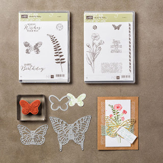 Butterfly Basics zena kennedy independent stampin up demonstrator