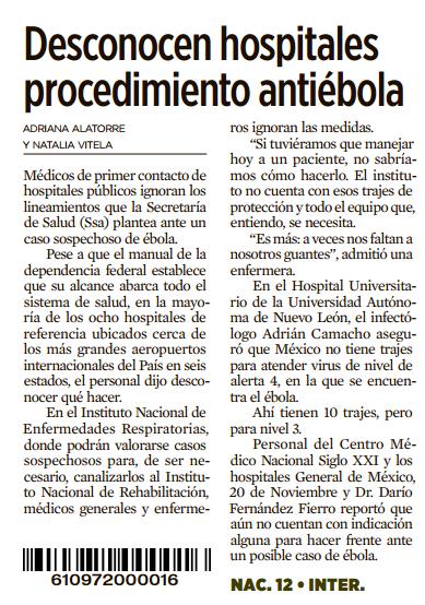 """sports shoes 66db7 52a44 Si, como leí en un diario el fin de semana, los """"médicos de primer contacto  de hospitales públicos ignoran los lineamientos que la Secretaría de Salud  (Ssa) ..."""