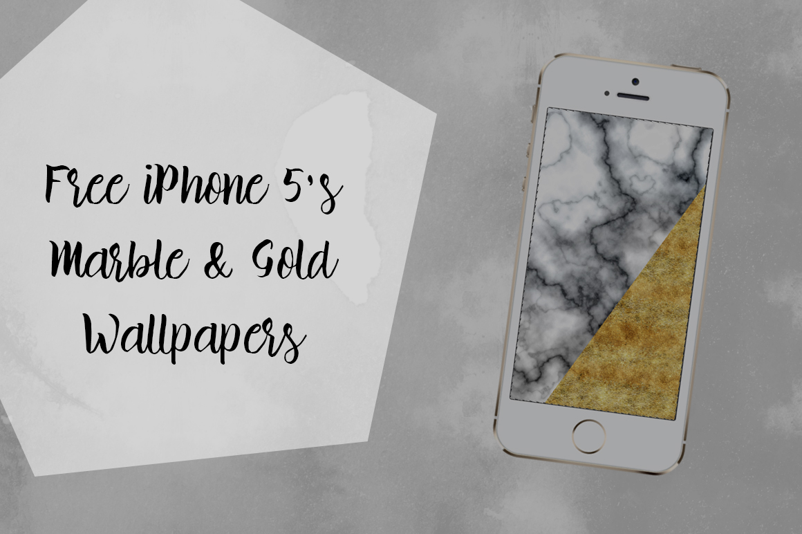 DLOLLEYS HELP: Marble & Gold IPhone 5s Wallpapers 1