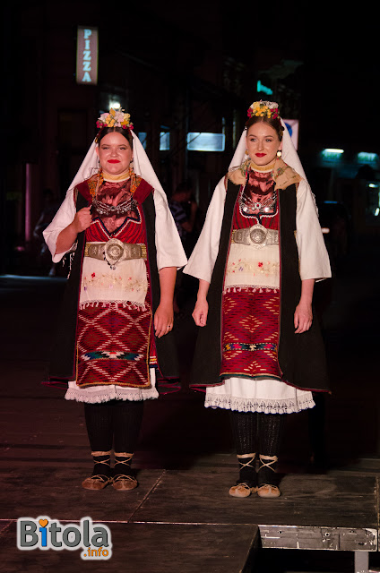 Macedonian national costumes - Ethnic area Duracka Reka