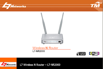 TM UniFi L7 NR2000 Router