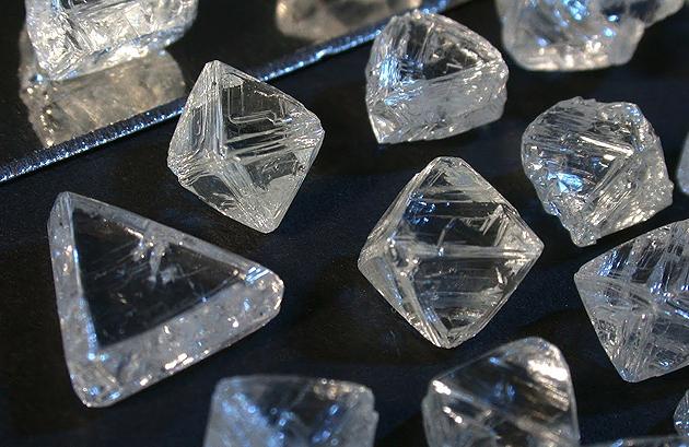 Diamanti grezzi