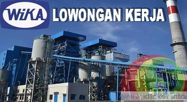 Lowongan Kerja BUMN PT Wijaya Karya Tbk (WIKA) Terbaru 2019