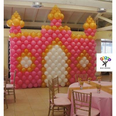 Balon Wall Pesta Dekor Standar