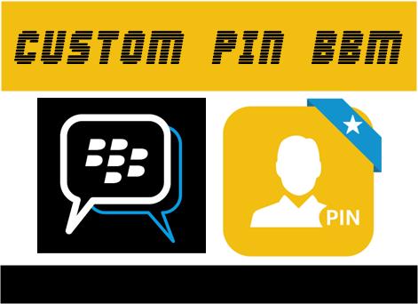 Cara Mengganti Pin BBM Sesuka Hati (Custom Pin)
