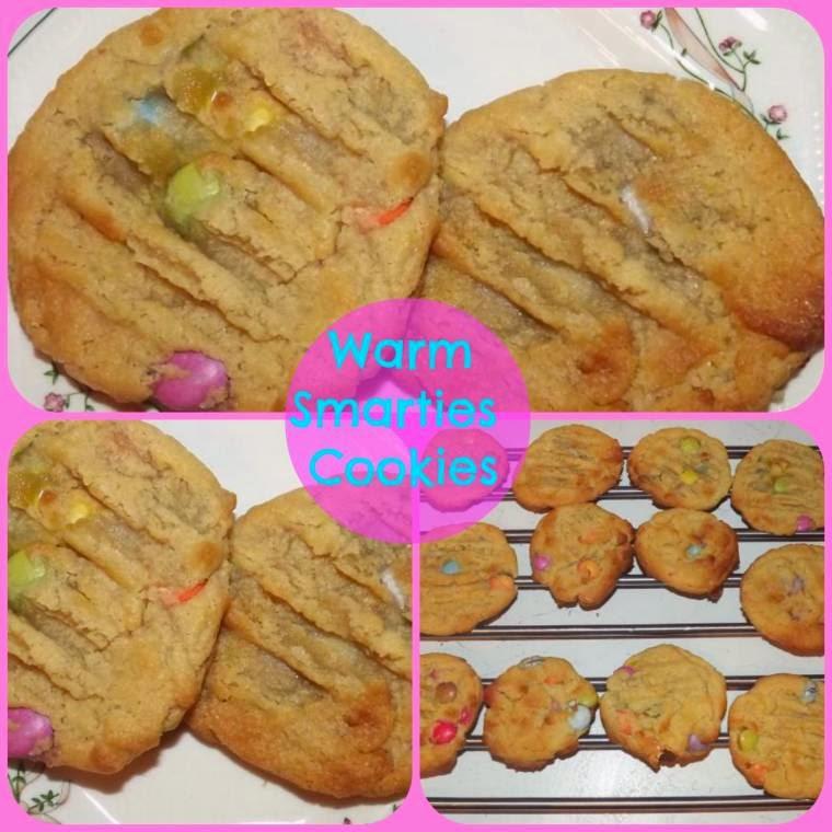 Warm Smarties Cookies Creative Thursday #Week5