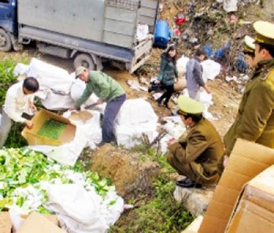 Chống buôn lậu và hàng giả ở Lạng Sơn