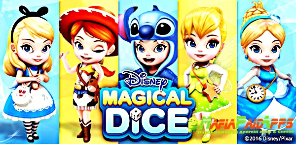 Disney Magical Dice : The Enchanted Board Game Apk MafiaPaidApps