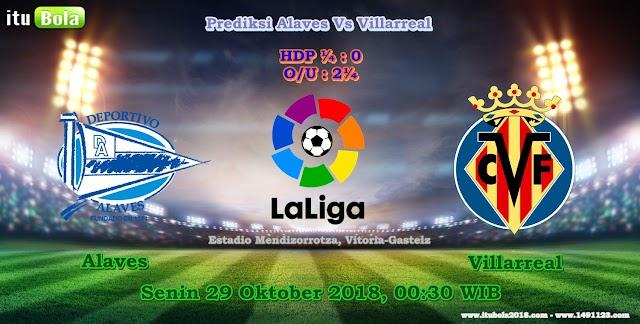 Prediksi Alaves Vs Villarreal - ituBola