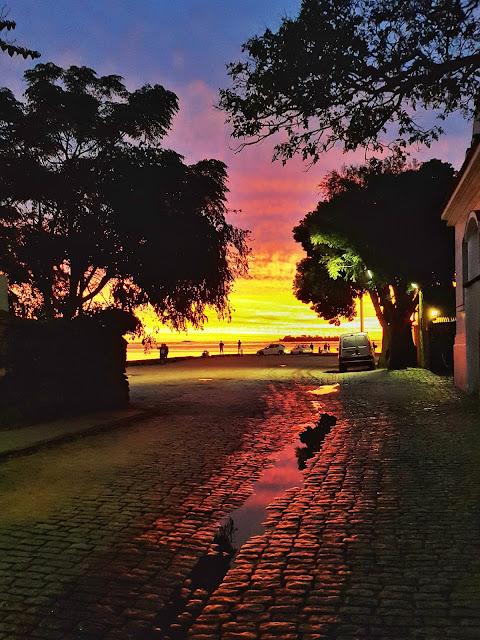 Colonia del Sacramento tem o por do sol mais bonito de todo o Río de la Plata