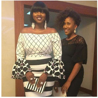 Waje and her Dauther