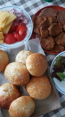 Galettes végétales aux haricots rouges et maïs ; Galettes végétales aux haricots rouges et maïs