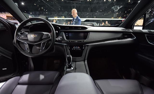 2018 Cadillac XT5 Interior