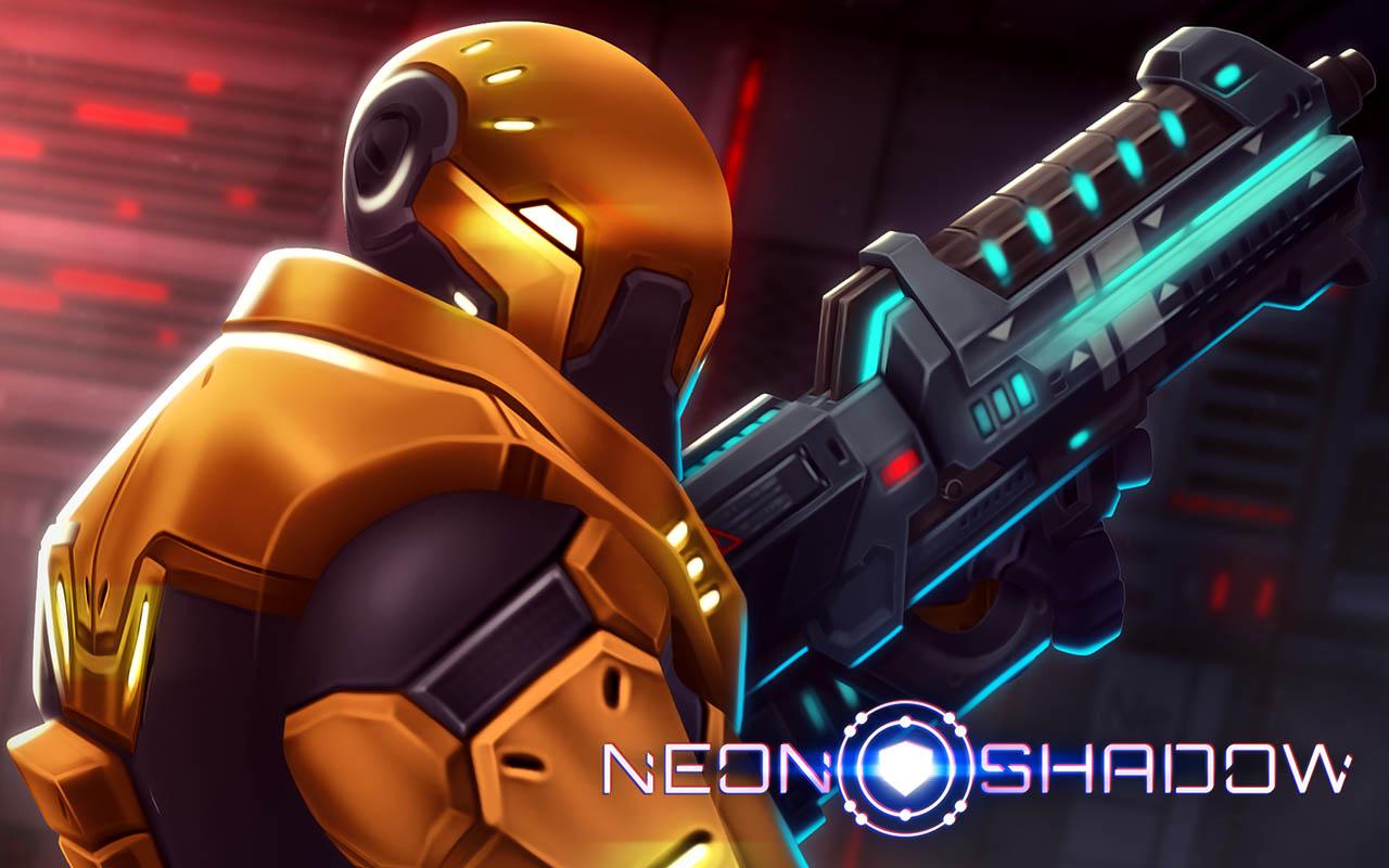 دانلود بازی اکشن سایه های نئونی ویژه اندورید - Neon Shadow Apk + Data
