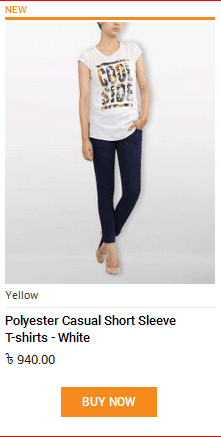 POLYESTER CASUAL TEE