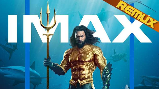 Aquaman (2018) IMAX REMUX 1080p Latino-Castellano-Ingles