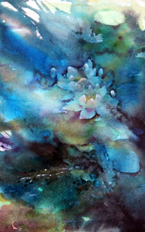 Waterlilies in Watercolour 2018