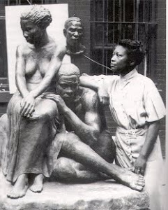 Sculptor Augusta Savage
