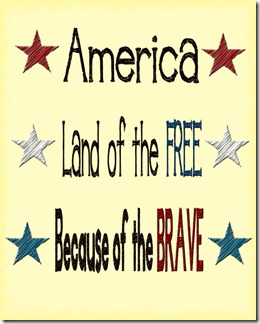 america-land-of-the-free-because-of-the-brave-printable
